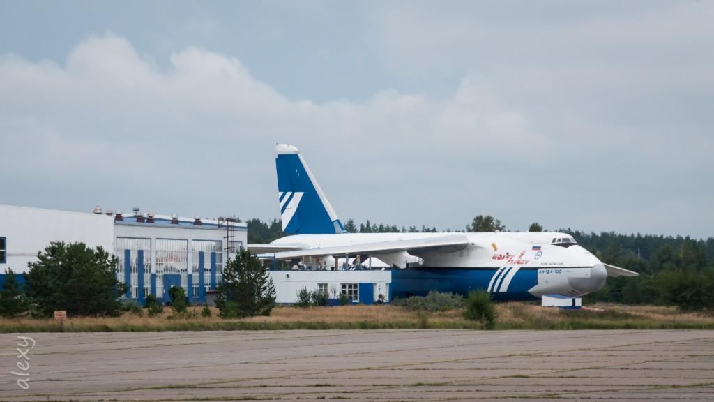 RA-82075, Антонов Ан-124-100, Авиакомпания Полет, Назван 'Борис Нагинский'